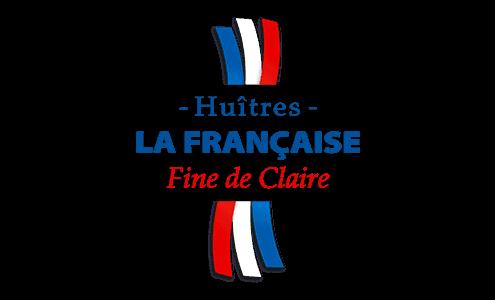 Logo huitres la francaise fine de claire marennes oléron