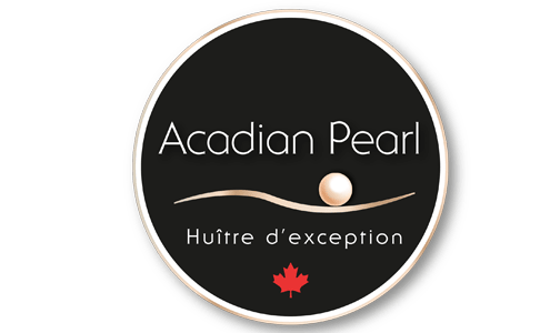 logo acadian pearl oysters Cocagne New-Brunswick Canada