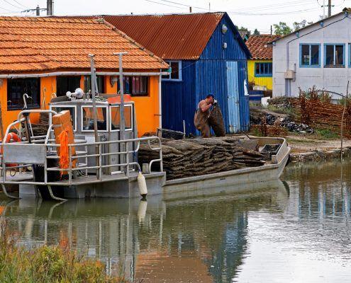oyster farmer France Marennes Oleron